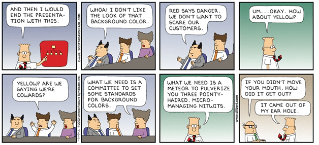 How to Keep Dilbert Out of Your Office